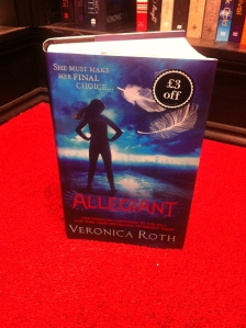 This is third year running that Veronica Roth has come top of the Young Adult Fantasy section with the Divergent series